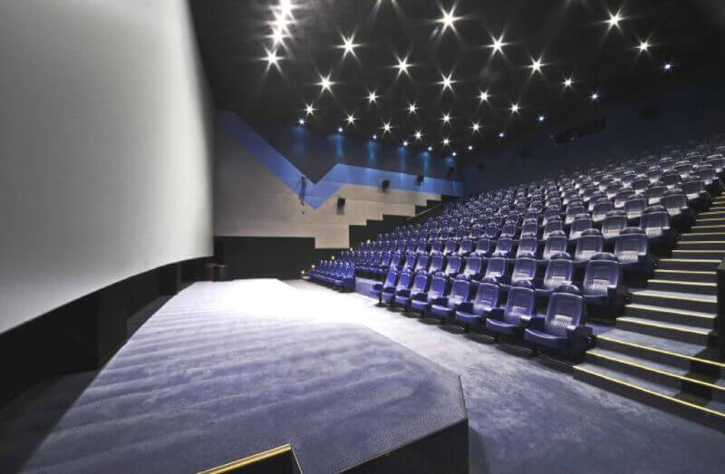 Acoustic wall qualities and criteria for professional cinemas
