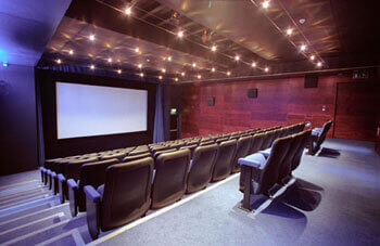 Cinema projection screens and frames