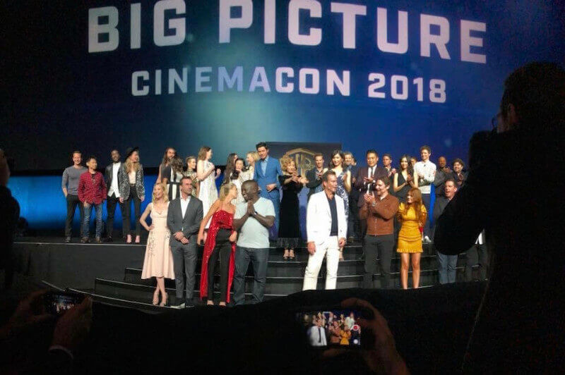 Movie stars fill CinemaCon stage