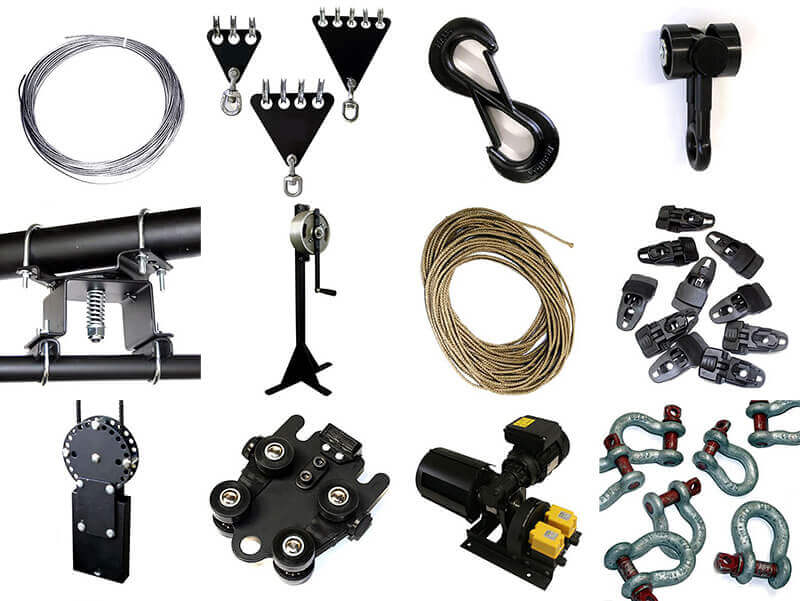 Theatre & stage equipment spare parts