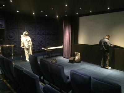 Camstage contributes classy hotel cinema on the Thames
