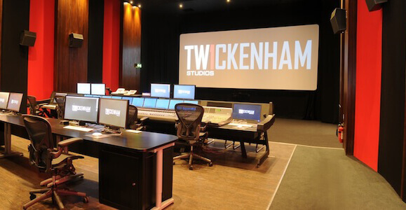 Twickenham theatre 2 ClothGrip™ Acoustic wall systems