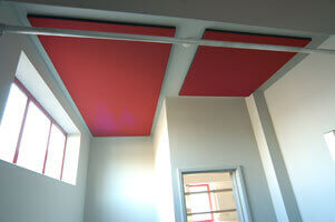 Acoustic soft wall treatment