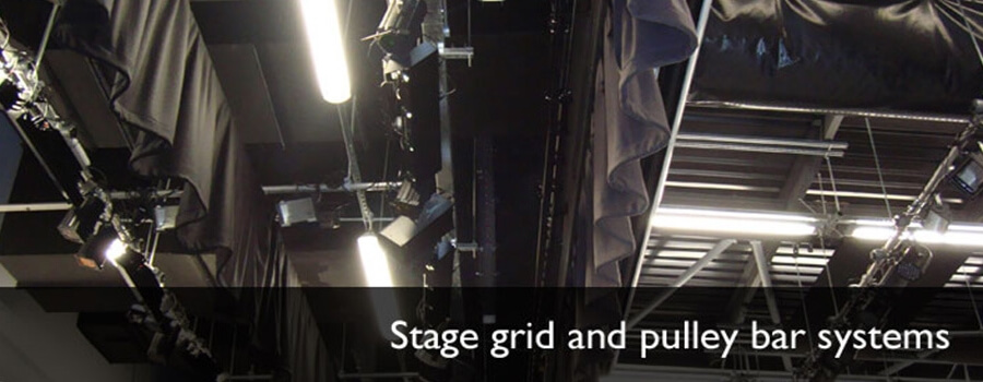 Stage equipment, Grids and Bar systems