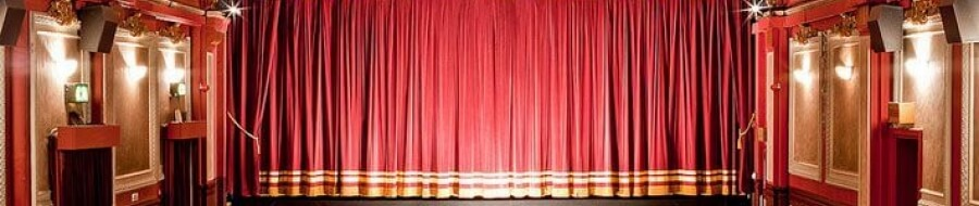 Camstage installs curtains at Gate