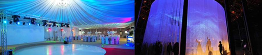 Products for indoor and outdoor special events
