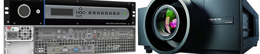 Projection and audio for professional and high-end home cinemas