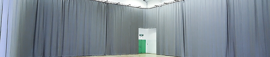Curtains and drapes for conference suites, schools, hotels and offices